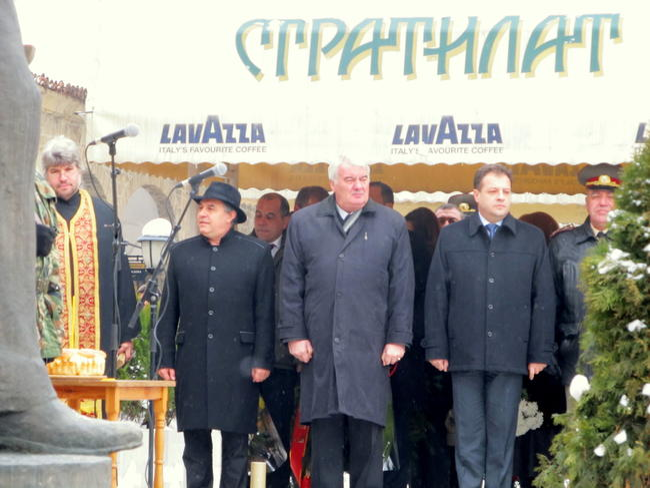 Почетоха рождението на Стефан Стамболов в родния му град