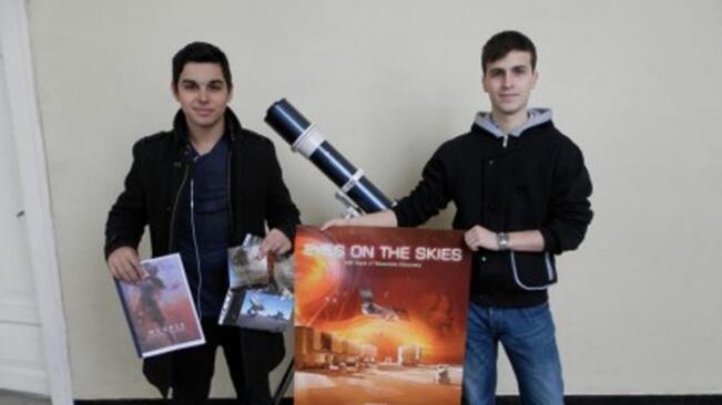 Ученици сътвориха астрономически андроид!