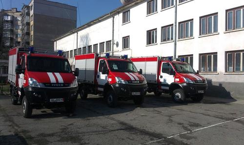 Габровската пожарна се фука с нова техника