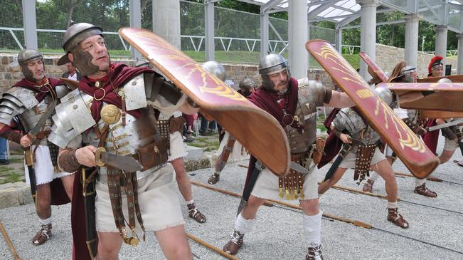 """Римски легиони """"окупираха"""" Нове"""