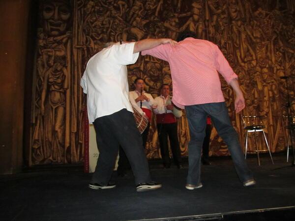 Търново посрещна с удоволствие Хорхе и Демиан Букай