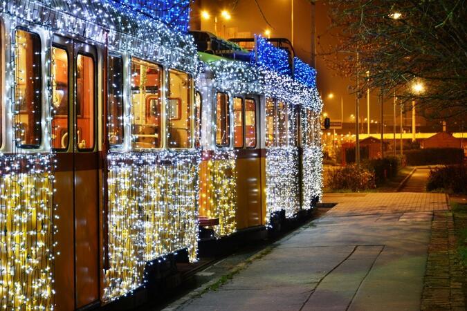 Трамвай на времето заснеха в Будапеща