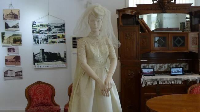 Сватбена рокля от 1959 г. краси РИМ-Русе