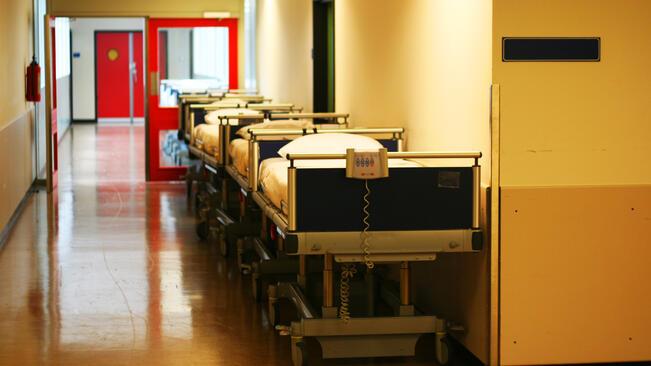Болнични легла и шкафове получи Русенската болница
