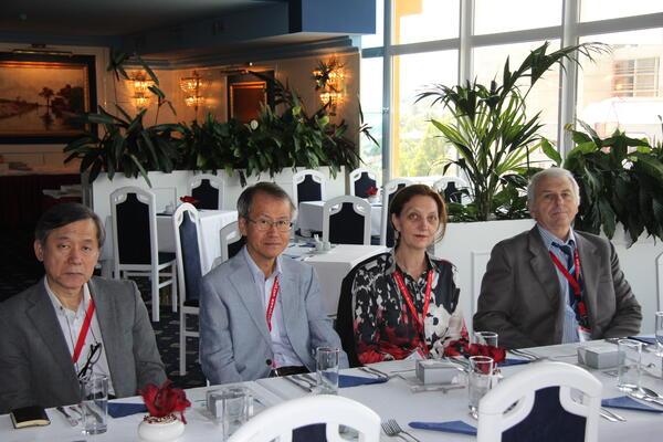 Проф.Георгиев и д-р Георгиева-Гроссе с интересно участие в Прага