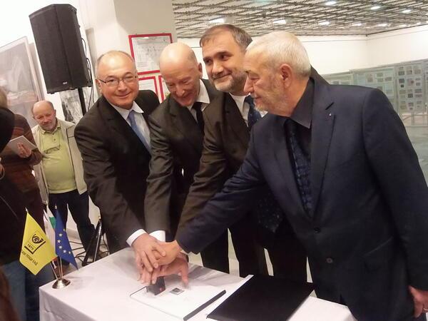 Симеон Сакскобургготски откри Националната филателна изложба + СНИМКИ