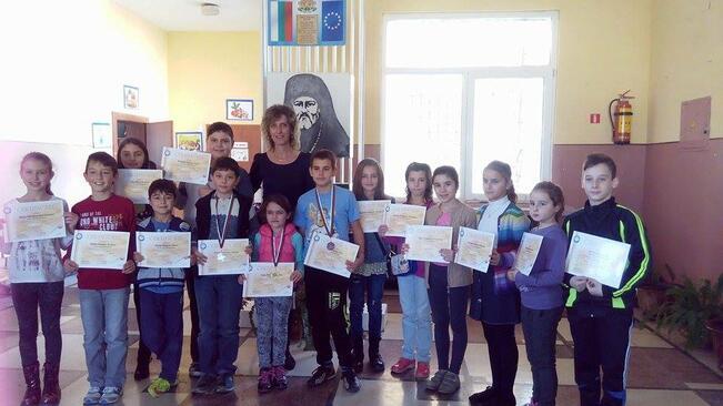 5 медала за лясковски математици