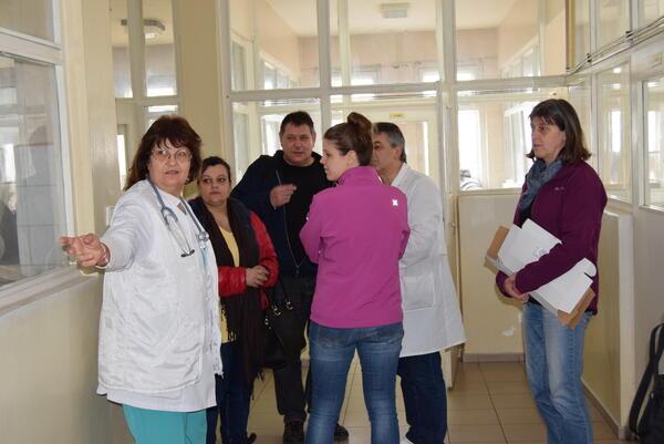Германска фондация ще реновира помещение в детското отделение на болницата