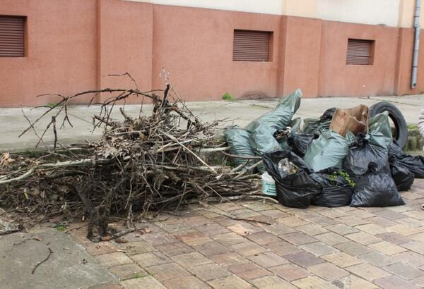 Плевенчани начело с кмета почистиха Водната каскада