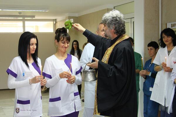 Министър и кмет откриха обновените родилно отделение и неонатология на Великотърновската болница