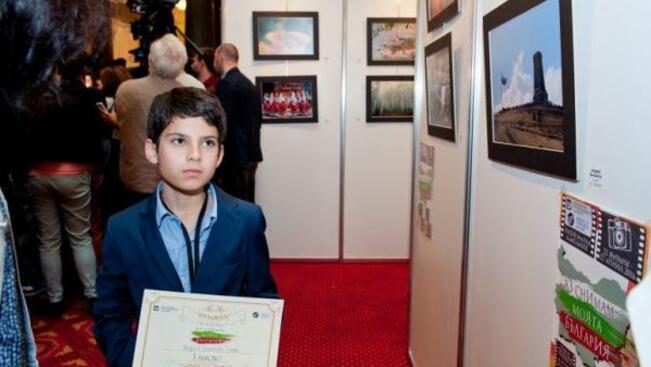 Петокласник от Габрово с първо място във фотоконкурс на МОН