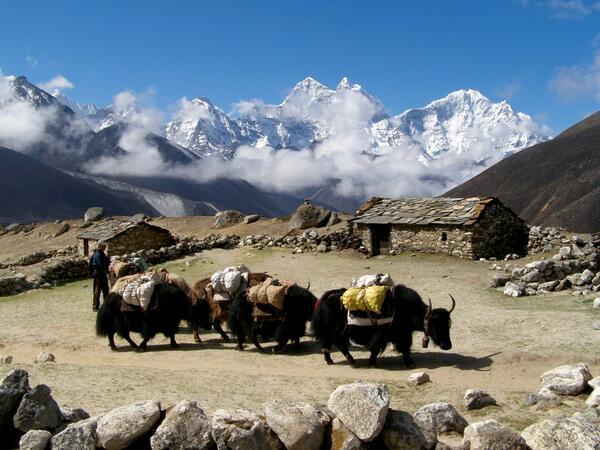 Фотоси и картини на Иван Мутафов ни отвеждат в Хималаите
