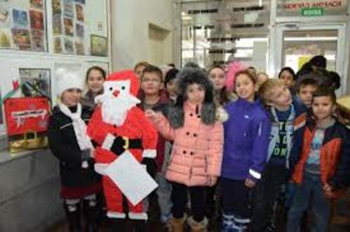 Метър и половина писмо до Дядо Коледа изпратиха второкласници от Г.Оряховица