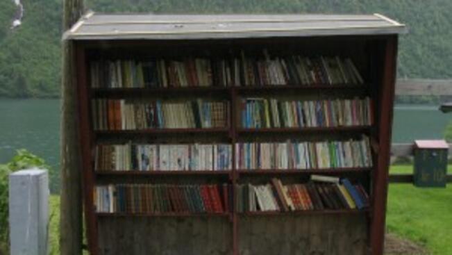 15 кашона с книги за къщички-библиотеки
