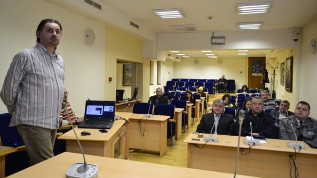 Пилотна система за ранно оповестяване и предупреждение при бедствия и аварии бе представена във Велико Търново