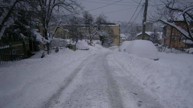 Зимната обстановка в община Габрово на 12 януари