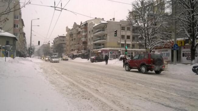 Жълт код за Русенска област, ограничения по пътищата