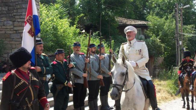 Пресъздават Освобождението на Търново по случай 140-годишнината