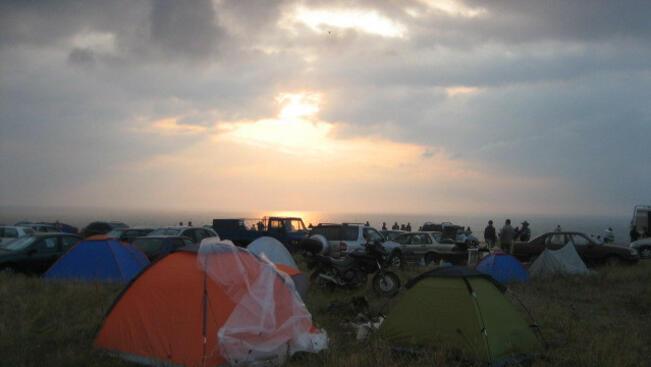 Джулай морнинг на брега край Шабла