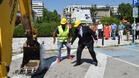 Започна изграждането на кръгово кръстовище в центъра на Горна Оряховица