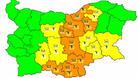 Оранжев код за интензивни валежи е в сила за област Велико Търново