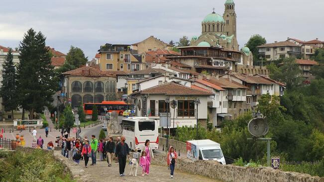 10,6% е ръстът на туристи във Велико Търново