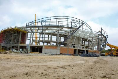 Докъде стигна строежът на зала Арена Шумен?