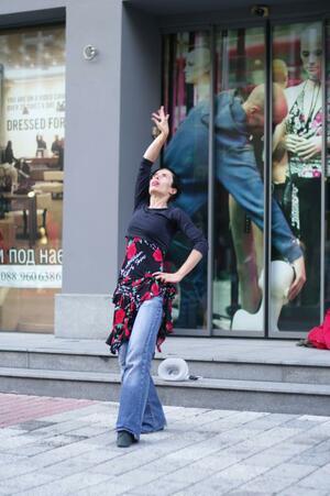 """Ана Саласар: """"За да танцуваш е необходимо да имаш нагон да се движиш и реагираш на музиката"""""""