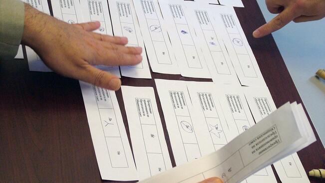 Предадени са бюлетините за гласоподаватели в 10 общини